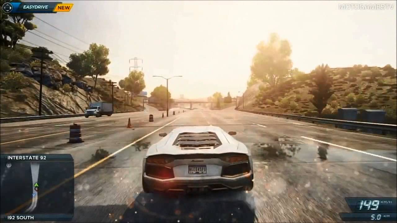 Need for speed most wanted 2 trailer